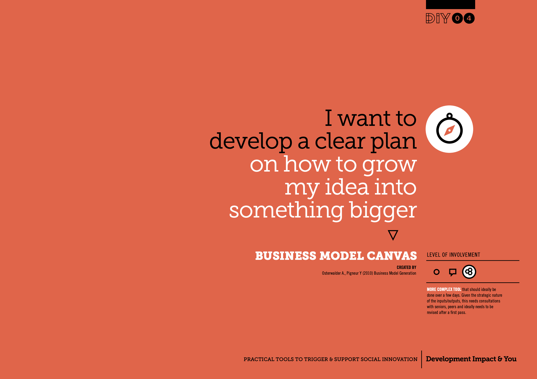 「The Business Model Canvas」
