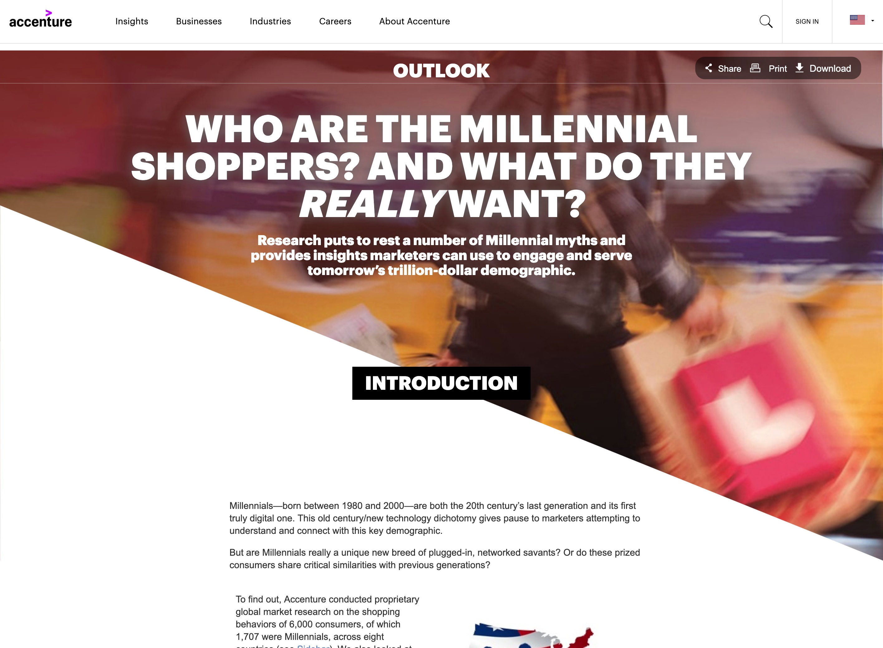 「Who are the Millennial shoppers? And what do they really want?」