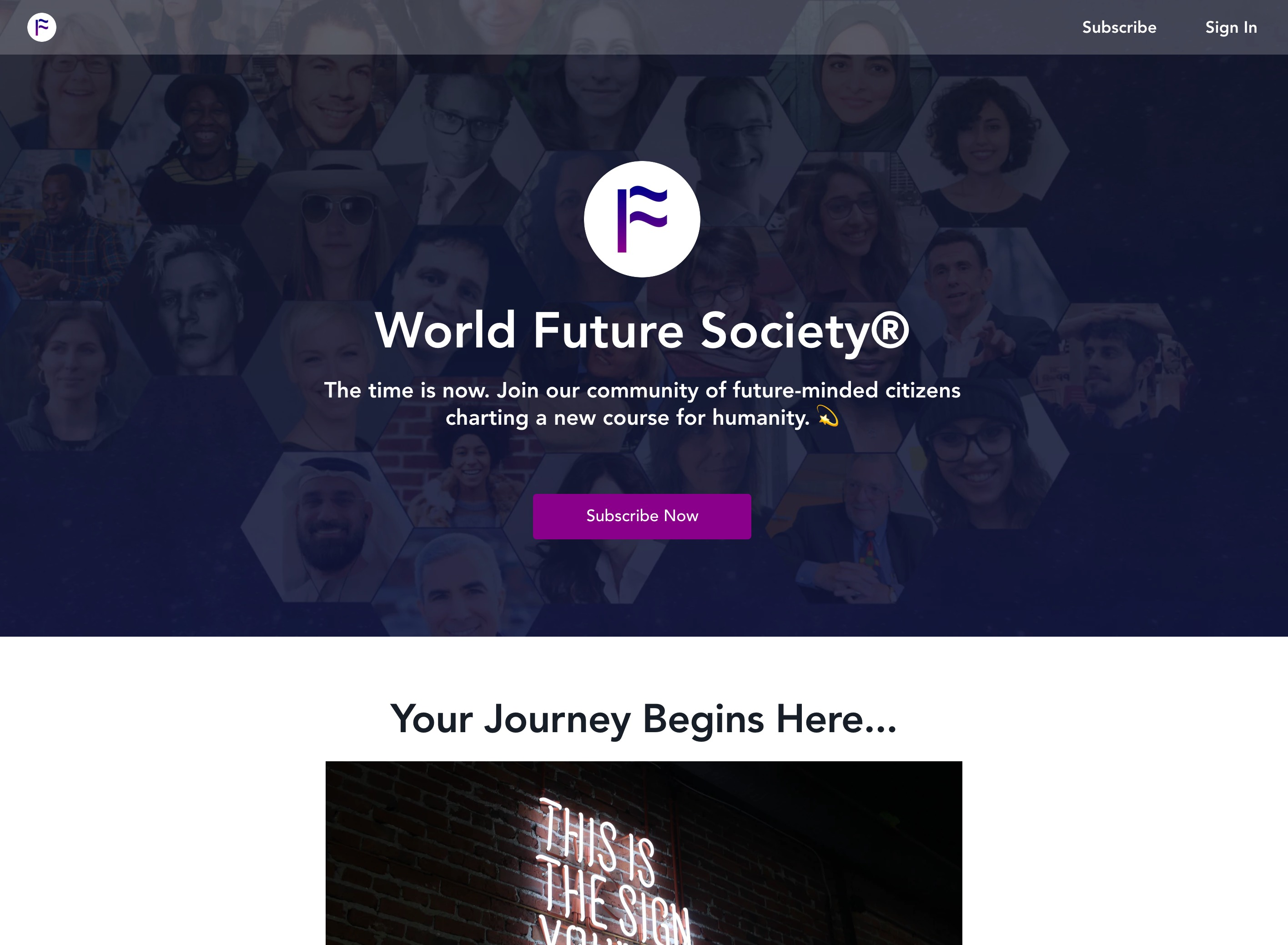「World Future Society」
